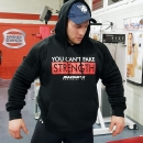"Hoodie ""Can't Fake Strength"""